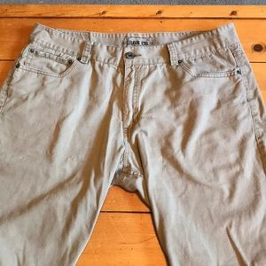 Other - IRON CO- Tan cargo shorts